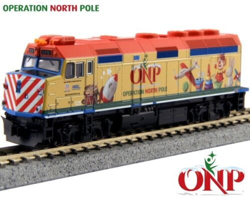 Neu Kato n Maßstab Zug 4 Einheit Set Operation North Stange Weihnachten 106-2015