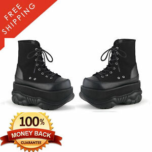 Details about Demonia NEPTUNE 115 Men's Platform Lace Up Ankle High Boot