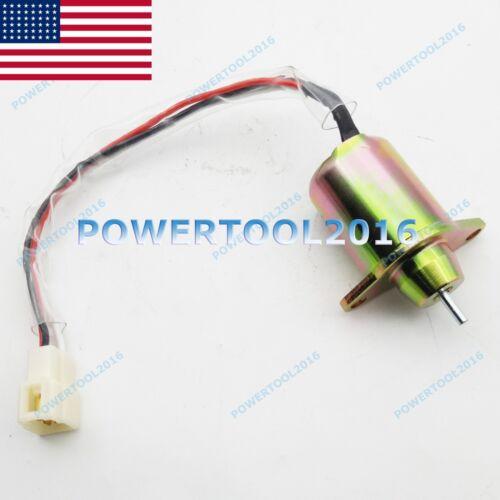 Fuel Shutoff Solenoid 119285-77950 129486-77952 FOR Yanmar 3TNE84 3TNE88 4TNE84