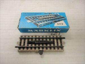 Marklin 5112 HO Gauge M Track 3 Rail Uncoupler NEW