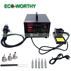 2in 1Soldering Rework Station Desoldering Unsoldering Hot Air Gun Kit Power Tool - <span itemprop='availableAtOrFrom'>SOUTHALL, United Kingdom</span> - Returns accepted - SOUTHALL, United Kingdom