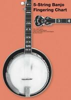 5-string Banjo Fingering Chart - Banjo Book - 014042872