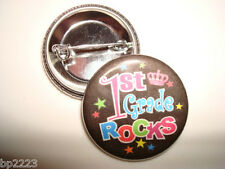 """1st 2nd 3rd Place BUTTON Badges 1-1//4/"""" Cute w//Pinback"""