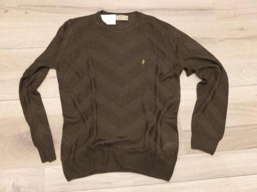 elegante Marlboro Maglione 100 gr L Nuova di 52 al lana fine maglia Classics aqqxEBX
