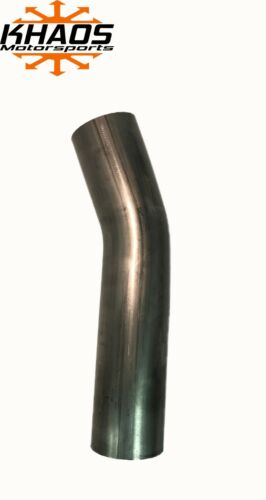"2.5/"" 2-1//2/"" 22.5 Degree 304 Stainless Steel Mandrel Bend Exhaust Tubing 2 Pack"
