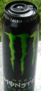 Mega-Monster-Energy-Drink-Empty-Can-553ml-Rare-Black-Green-From-Slovenia