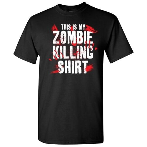 Keep Calm  Sarcastic Humor Zombie Graphic Gift Unisex Funny Novelty T-shirts