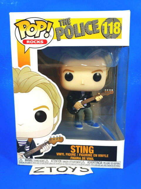 The Police-Sting 118 40087 Em ESTOQUE boneco de vinil Funko Pop Rocks