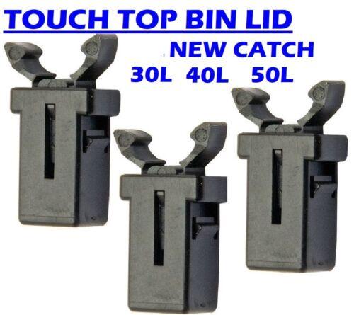 50 L 30 L Touch Release Bin Couvercle Catch loquet poussoir Zuny Curver DECO Addis Argos Lock