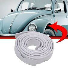 VW BUG Classic AIRCOOLED SUPER BEETLE FENDER BEADING FRONT 2 pcs WHITE Type 1 2