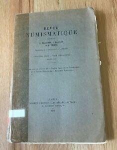 Revue-Numismatique-by-Blanchet-Babelon-amp-Prieur-Printed-1955
