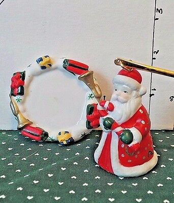 Christmas, Candle Snuffer, Santa, Packages & Horn Handle,  Party Lite