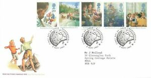 GB FDC 9 Sept 1997 Enid Blyton Famous Five - Beaconsfield Cancel OD9
