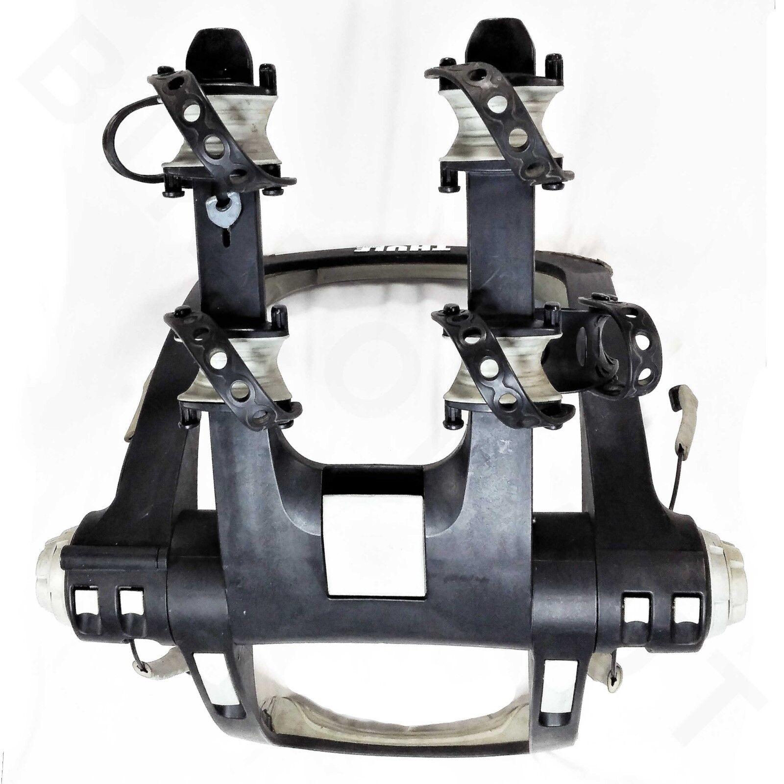 THULE RACEWAY 9001 2 Portabicicletas POSTERIOR TRONCO MONTE portador utilizado A10