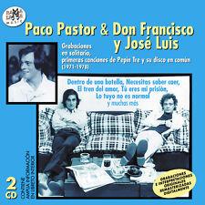 PACO PASTOR & DON FRANCISCO Y JOSE LUIS -2CD