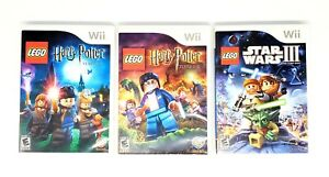 LEGO-Harry-Potter-Years-1-4-5-7-Star-Wars-3-The-Clone-Wars-Lot-Nintendo-Wii