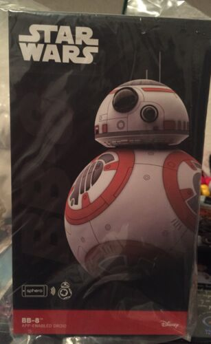 Star Wars The Force Awakens Sphero BB-8 app enabled droid