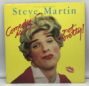 Vintage Steve Martin Comedy Is Not Pretty LP WITH POSTER! NM Record 1979