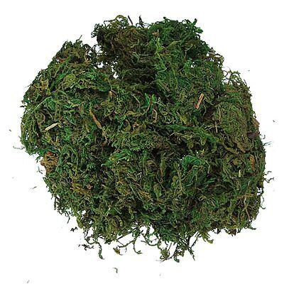 Green Artificial Reindeer Moss For Lining Plant Flower Garland Decor CT