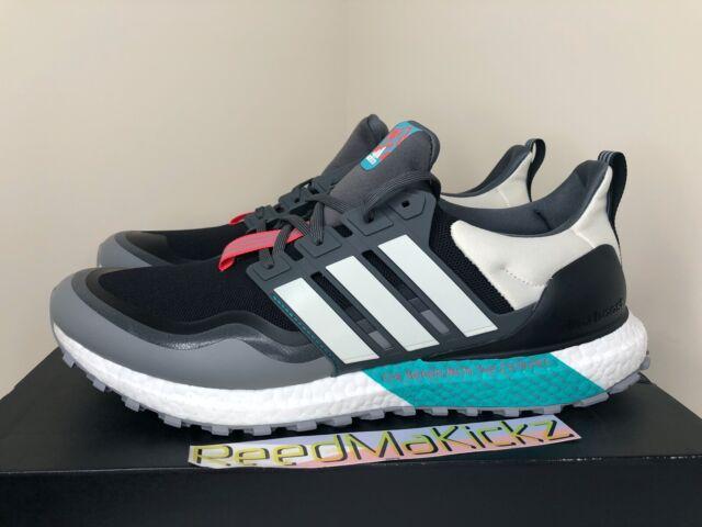 Size 10 - adidas UltraBoost All Terrain Black Hi-Res Aqua