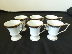 6-tasses-mazagrans-porcelaine-de-LIMOGES-dore