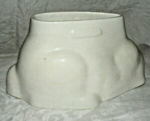 ANTIQUE-GRIMWADES-POTTERY-RABBIT-JELLY-MOULD-MOLD-BLANCMANGE-CUSTARD