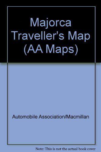 Majorca Traveller's Map (AA Maps) by Automobile Association/Ma Sheet map, folded