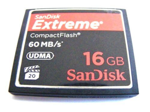4gb//8gb//16gb//32gb Compact Flash Card Extreme SanDisk usado cf mapa