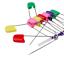 Mezcla-de-color-Bebe-Panal-Panal-viste-Pin-50MM-Imperdibles-Panales-clips-de-artesania miniatura 2
