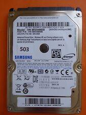 500 GB Samsung HN-M500MBB | PN: C7672-G12A-A5R7W | 2011.12  #503