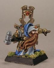 Ivar Dwarf Priest Reaper Miniatures Warlord Fighter Paladin Caster Melee Hammer