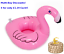 1 x Inflatable Floating Drink Can Cup Holder Hot Tub Swimming Pool Beach Party