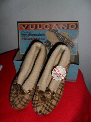 Erfinderisch Antike Schuhe Kamelhaar Icas Vulcano Original Verpackung Unbenutzt Rarität