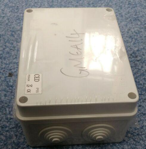 Électrique Moulé Boîte De Jonction IP55-10 prises