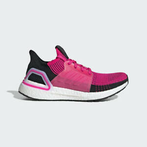 NEW Adidas Women's ULTRABOOST 19 W G27485 Shock Pink Running Shoes ...