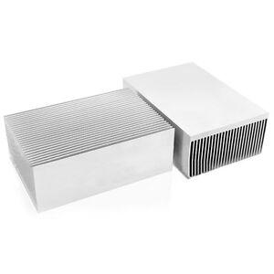 large big aluminum heatsink heat sink radiator for led high power amplifier ebay. Black Bedroom Furniture Sets. Home Design Ideas