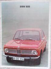 Prospekt BMW 02 1600 I/67