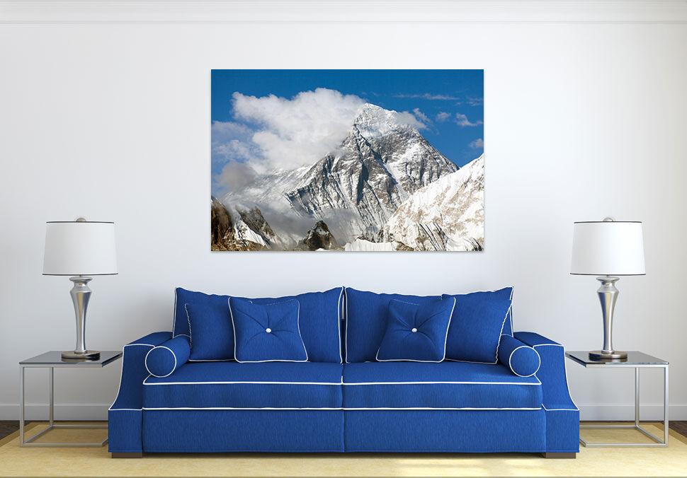 3D Weiße Wolke Hohe Berg 7675 Fototapeten Wandbild BildTapete AJSTORE DE Lemon