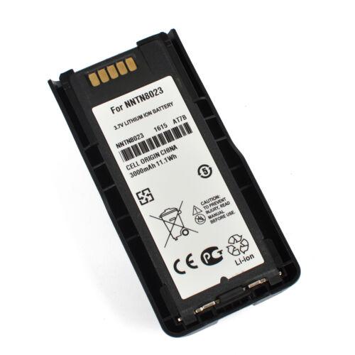 3000mAh Battery fit Motorola MTP3100 MTP3200 MTP3250 MTP600NNTN8023 NNTN8020AC