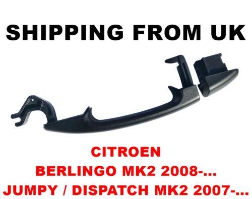 Extérieur côté poignée porte coulissante gauche droite citroen berlingo jumpy dispatch MK2
