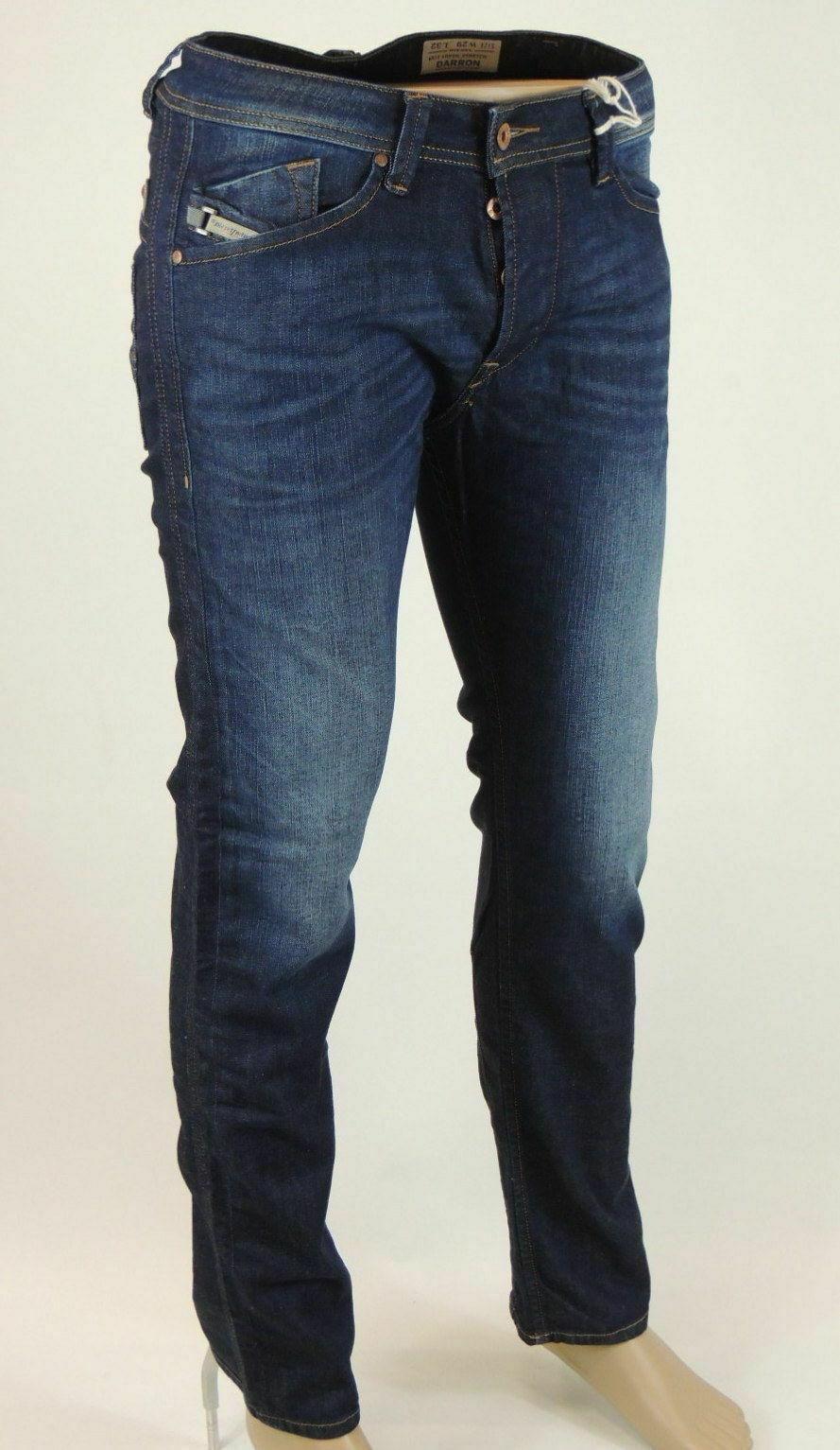 DIESEL Darron WASH 1RF06 Pantalones Vaqueros de Hombre  Pantalones Regular Slim Taperojo Gr Seleccionable  diseños exclusivos