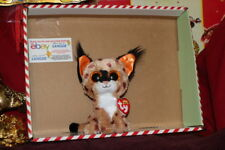 25a729dc510 item 4 TY BEANIE BOOS BUCKWHEAT THE LYNX~CAT-6+