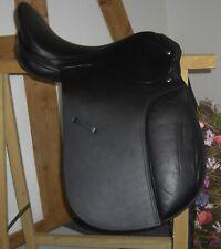 Dressursattel Sattel Freizeitsattel schwarz  dressage saddle neu