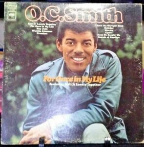 O-C-Smith-For-Once-In-My-Life-Album-Released-1968-Vinyl-Record-Collection-USA