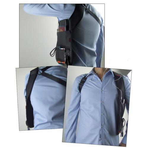 Versteckte Reise-Unterarm-Schulter Handytasche Holster Diebstahlsichere Tasche