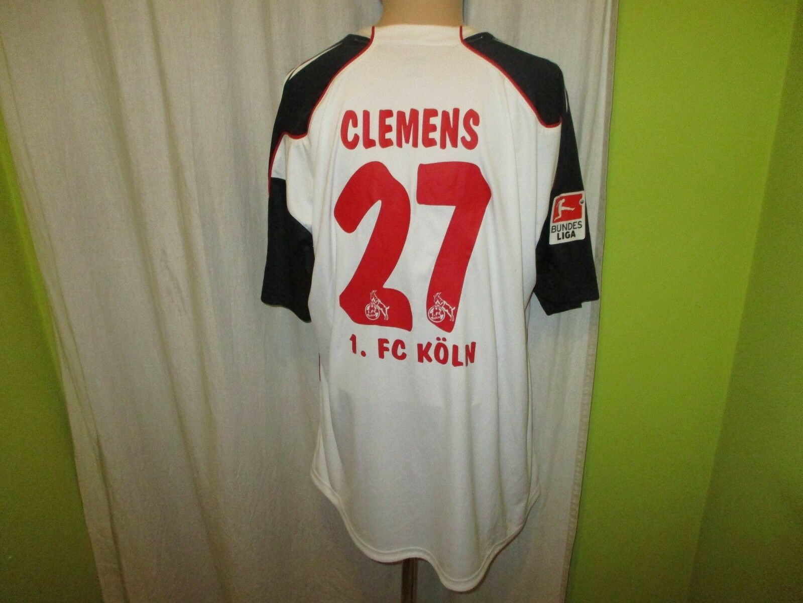 1.FC Köln Original Reebok Auswärts Trikot 2010/11