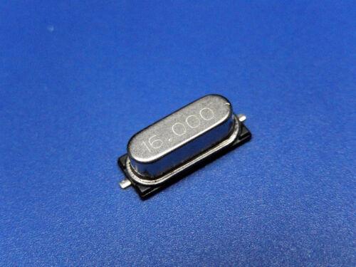 20x QUARTZ CRYSTAL 16.00MHZ 16.0000MHz HC49SM HC49//4H SMX SMD