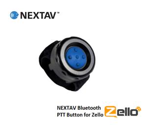 NEXTAV-Bluetooth-ZelloWork-Zello-PTT-Button-for-iPhone-iOS-with-Fastener