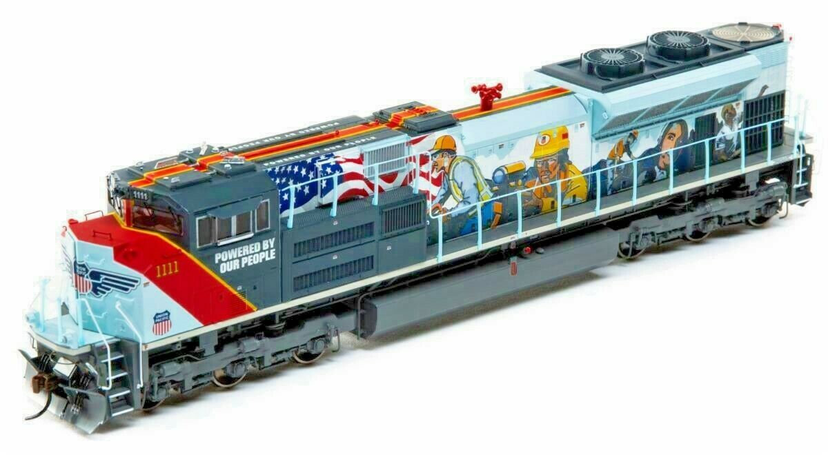 Athearn Genesis 01111 Union Pacific POWER of People SD70ACe Loco DCC & Sound NIB