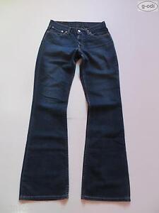 Levi-039-s-529-Bootcut-Jeans-Hose-W-28-L-34-RAR-Dark-Wash-Indigo-Denim-1702